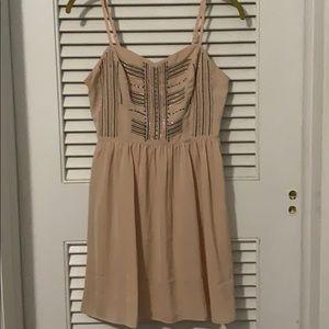 Blush Pink Sun Dress